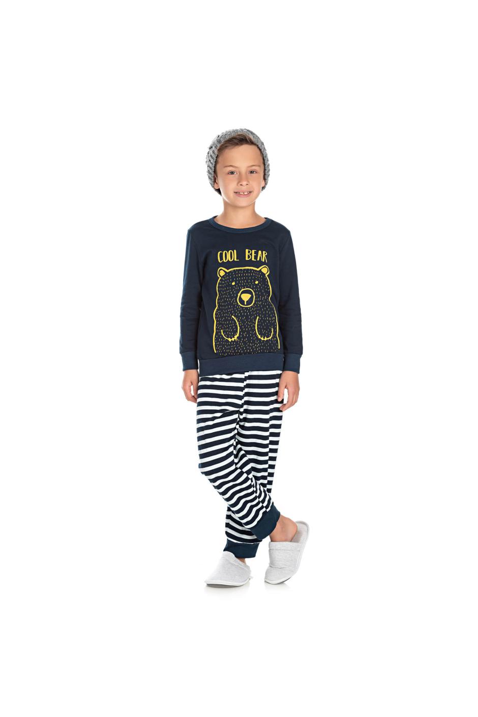 041/D - Pijama Infantil Masculino Cool Bear