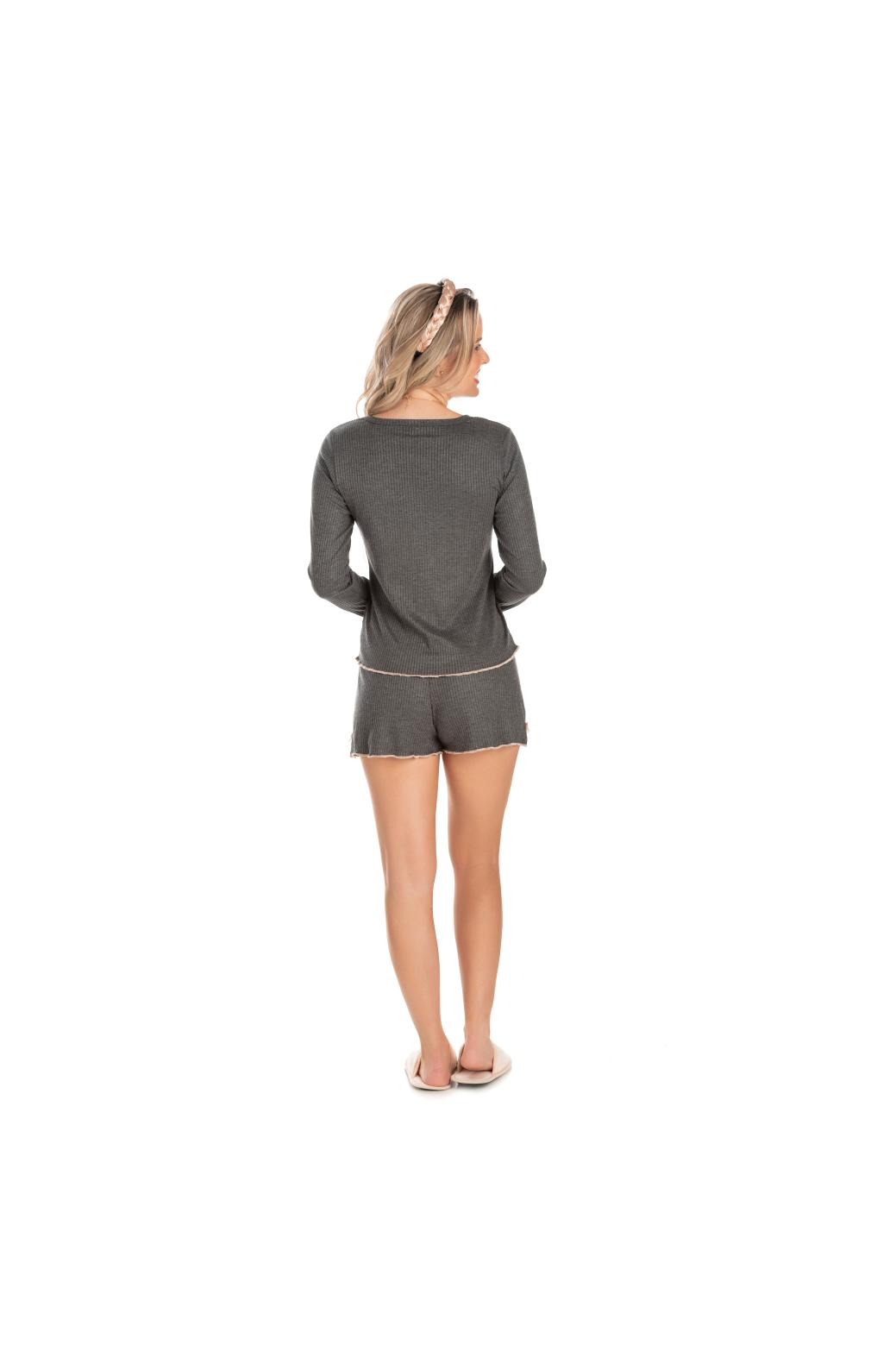 228/L - Pijama Adulto Feminino Fru Fru