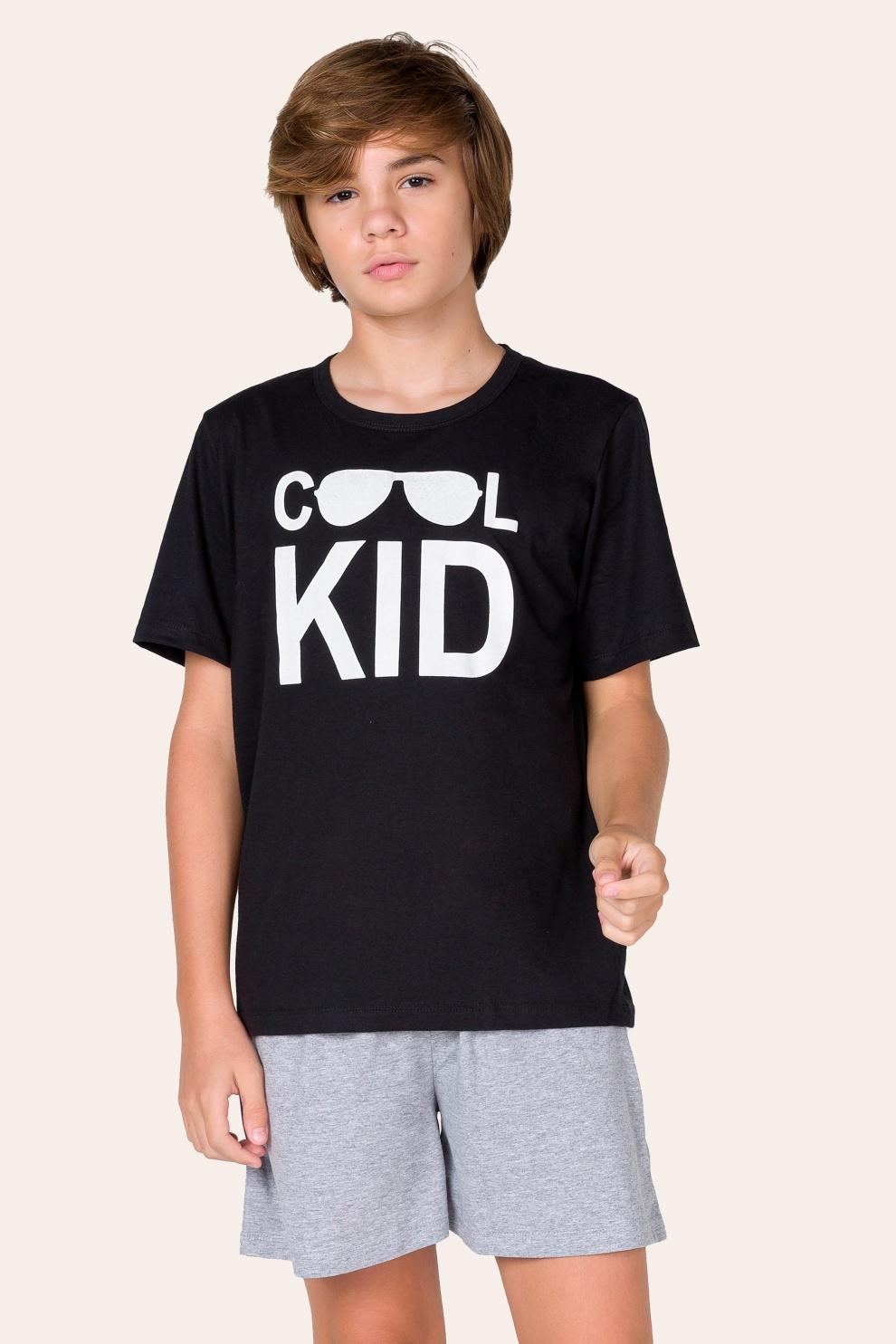 011/B - Pijama Juvenil Masculino Cool Kid