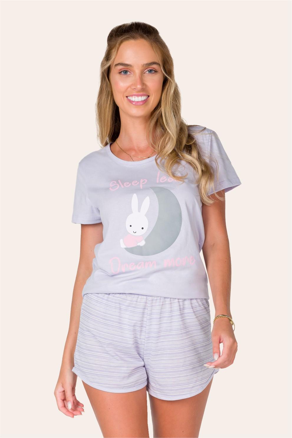 009/D- Pijama Adulto Feminino Dream More