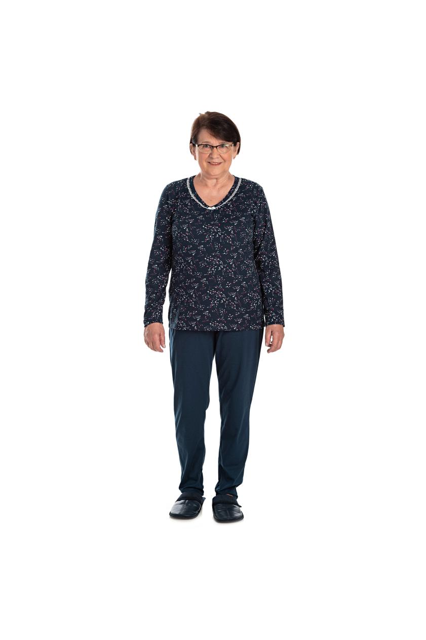 204/A - Pijama Adulto Feminino com Renda