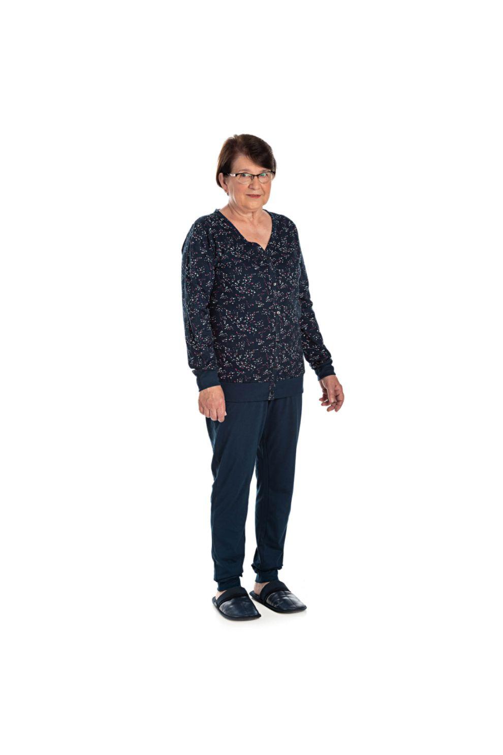 013/E - Pijama Adulto Feminino Estampa Rotativa