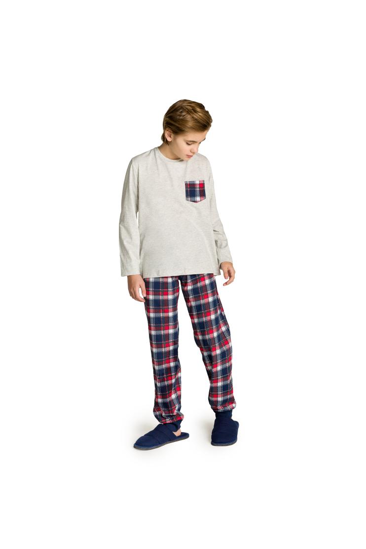 002/E - Pijama Juvenil Masculino Happy Family