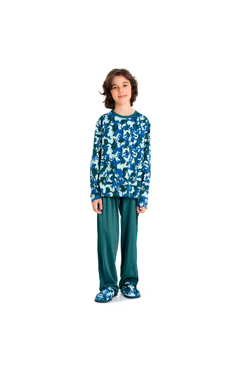 202/D - Pijama Juvenil Masculino