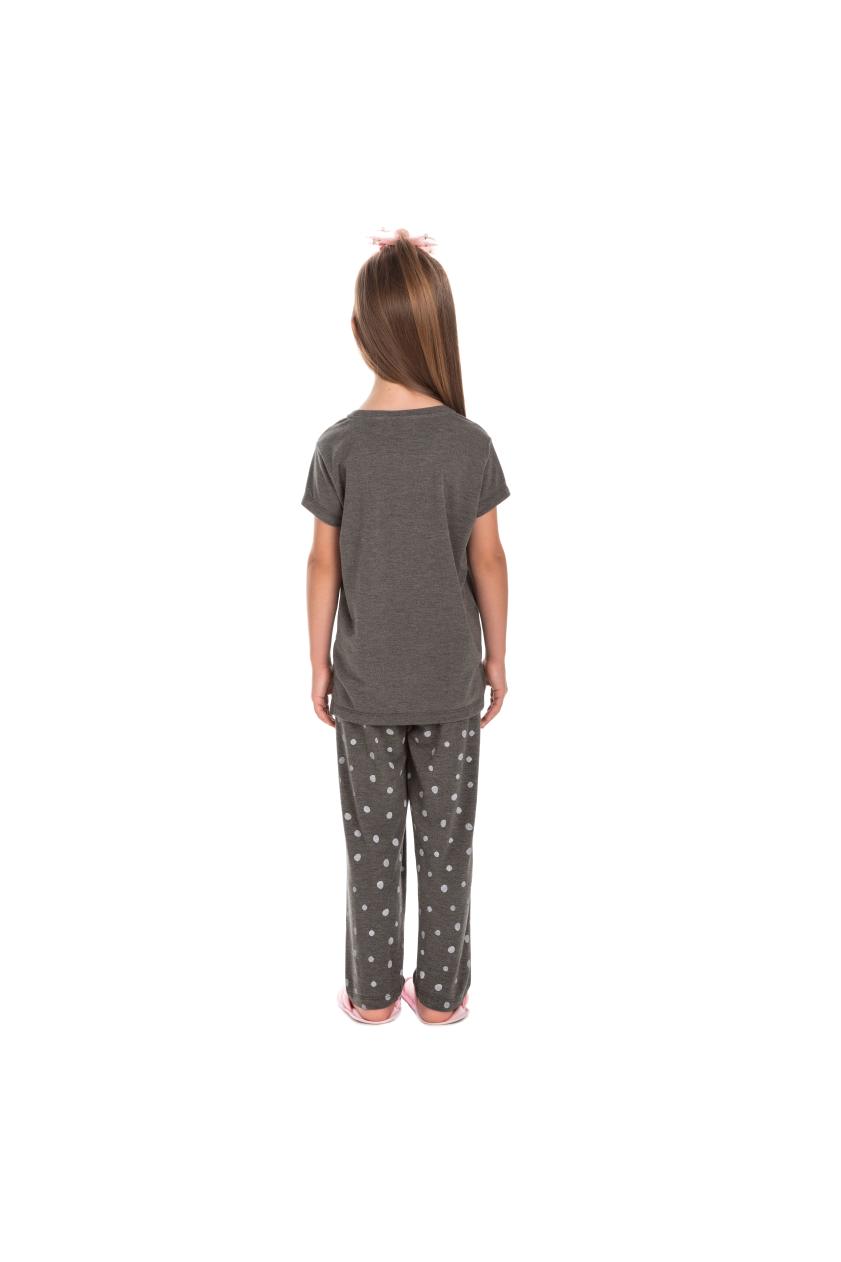 205/C - Pijama Infantil Feminino Feline Sleep zZzZ