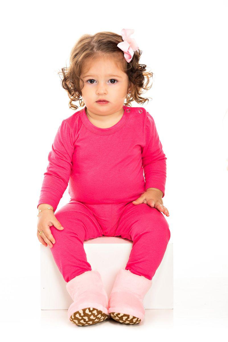 012/C - Conjunto Bebê Feminino Body e Calça