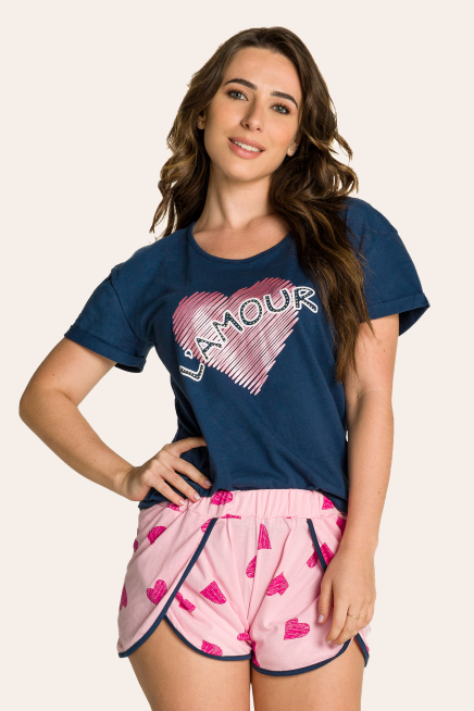 013/G - Short Doll Feminino Adulto L'amour