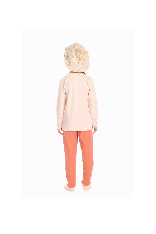 218/B - Pijama Infantil Feminino LLAMA