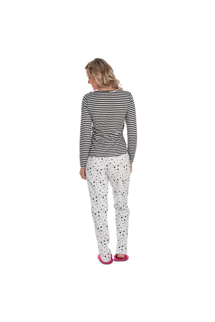 Pijama Adulto Feminino Mon Petit Coeur