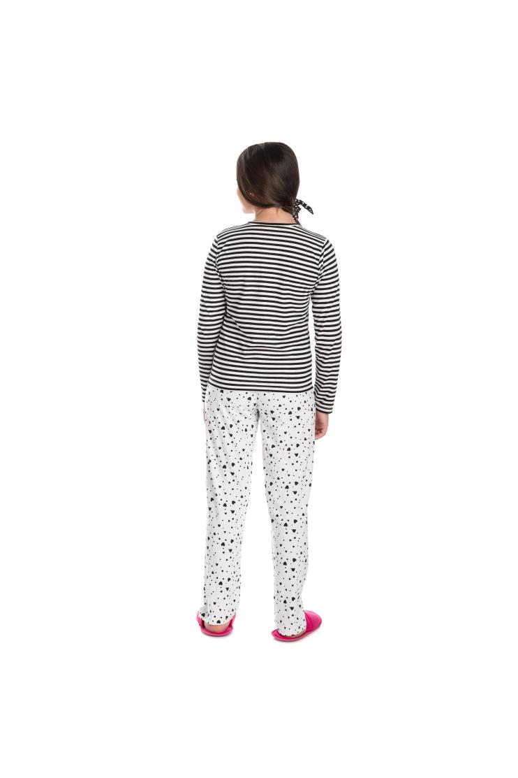 224/D - Pijama Juvenil Feminino Mon Petit Coeur