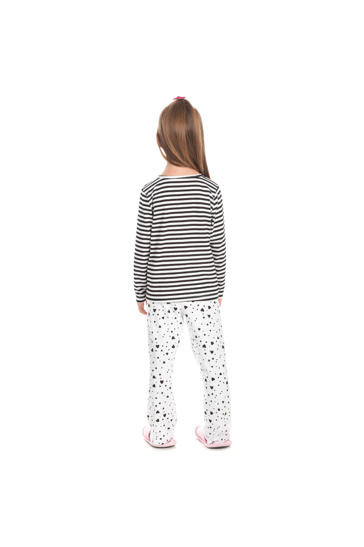 224/C - Pijama Infantil Feminino Mon Petit Coeur