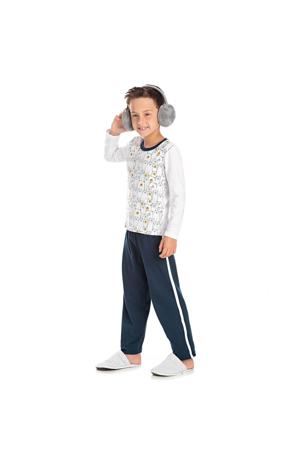 216/N - Pijama Infantil Masculino Urso