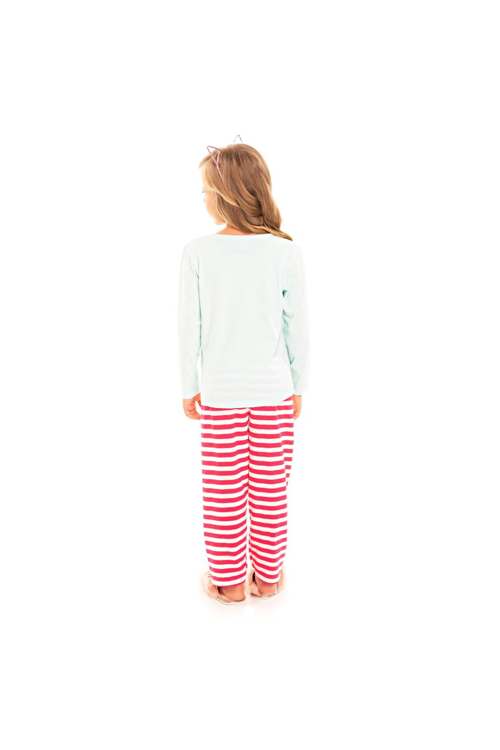 207/D - Pijama Infantil Feminino Together We Are Better