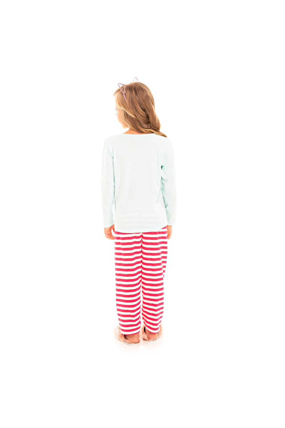 222/C - Pijama Infantil Feminino Together We Are Better