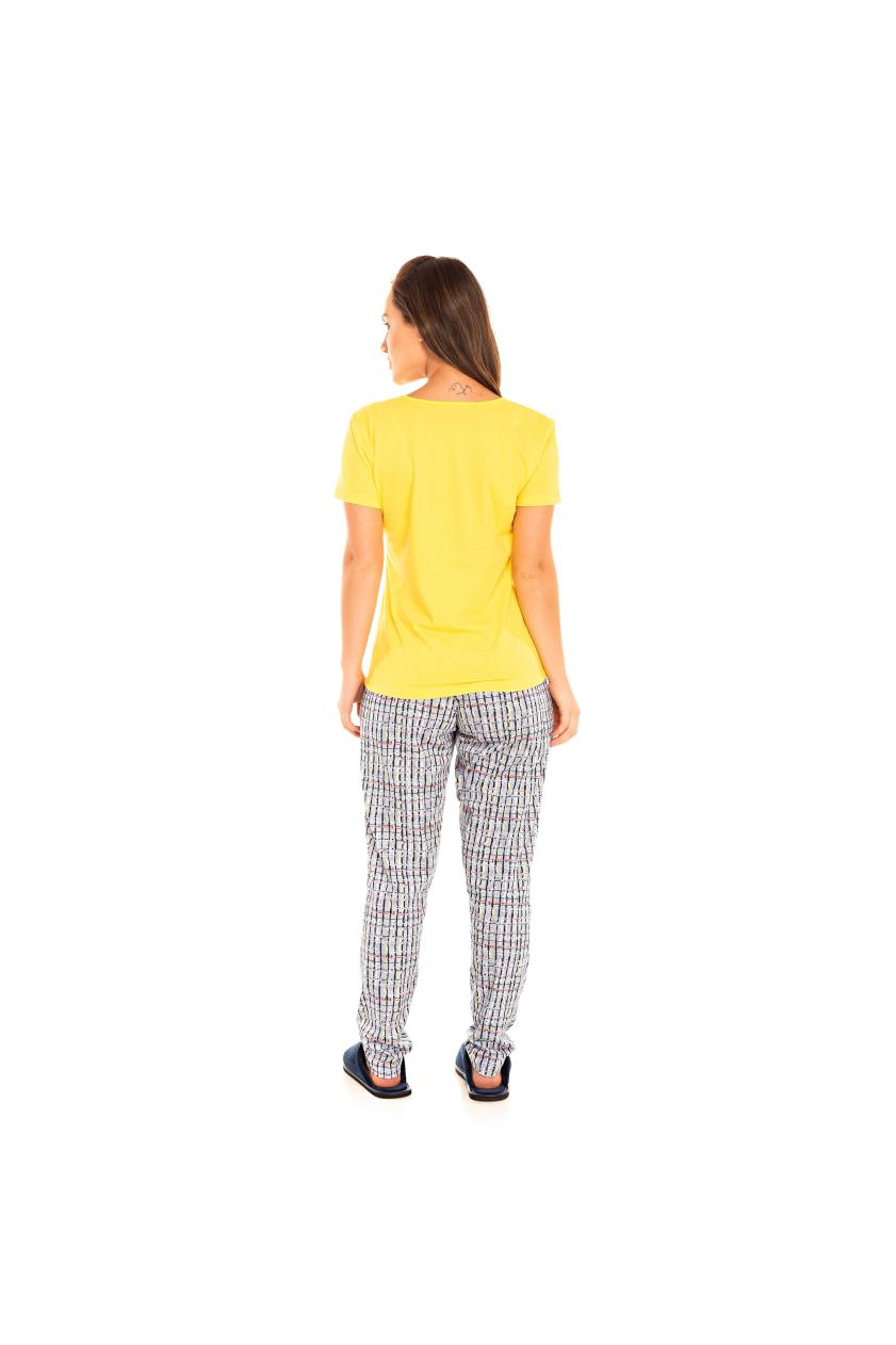 Pijama Adulto Feminino I LOVE PUG