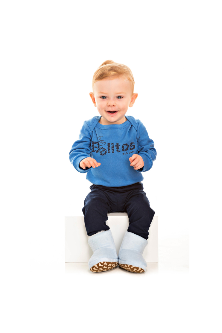 017/B - Pijama Bebê Masculino Belitos