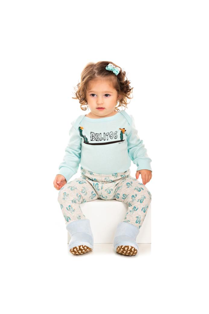 098/D - Pijama Bebê Feminino Belitos