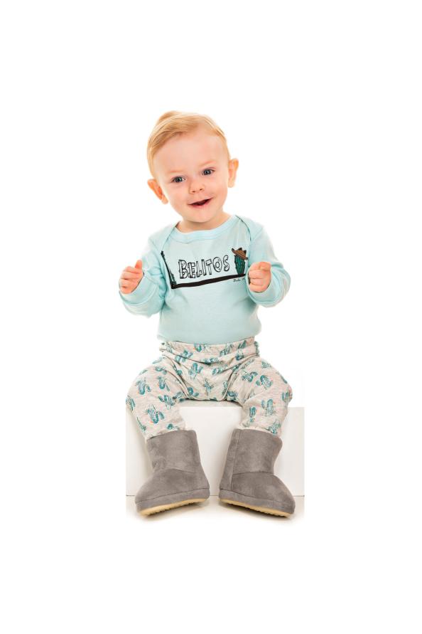 206/G - Pijama Bebê Masculino Belitos