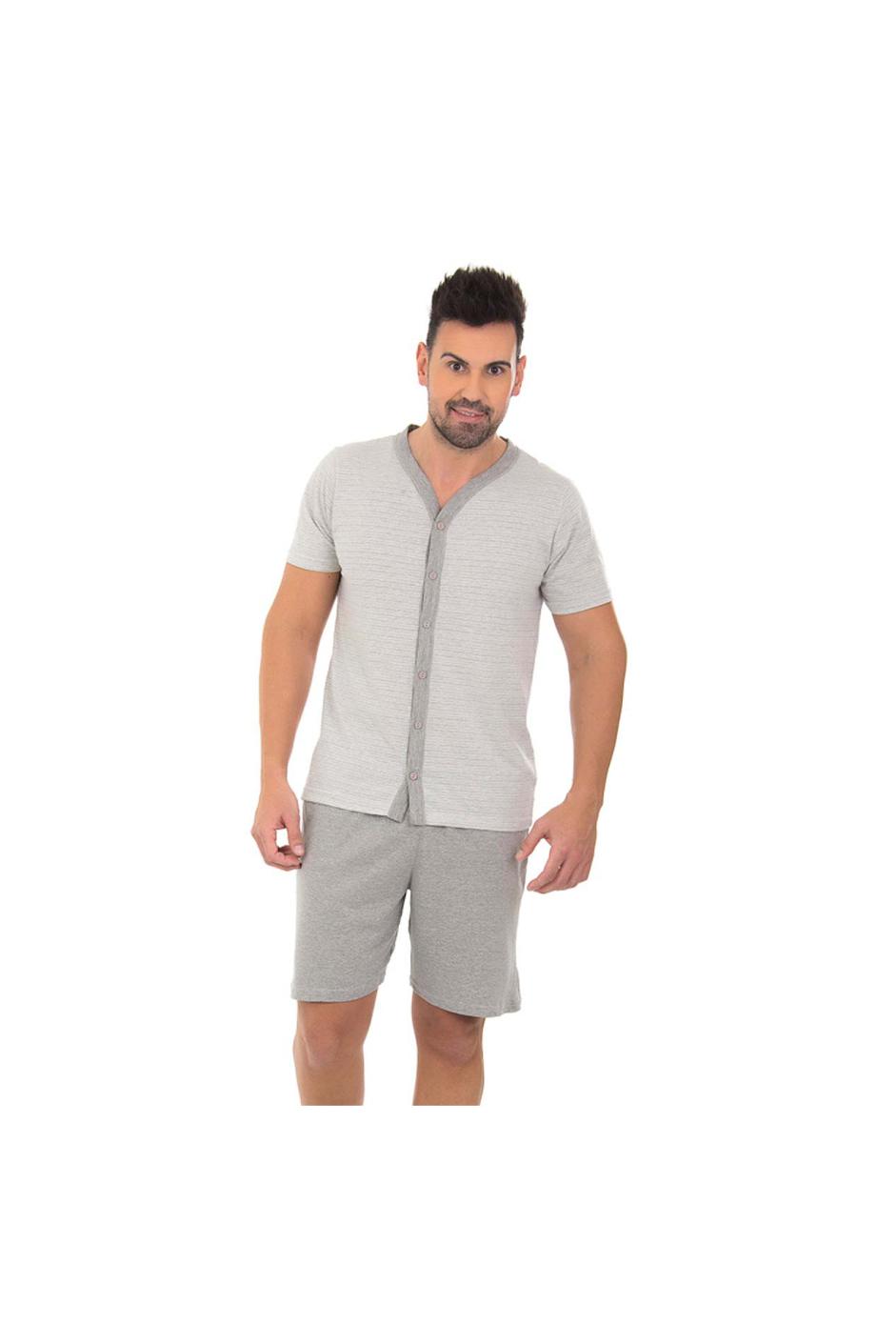 207/B - Pijama Adulto Masculino  Aberto