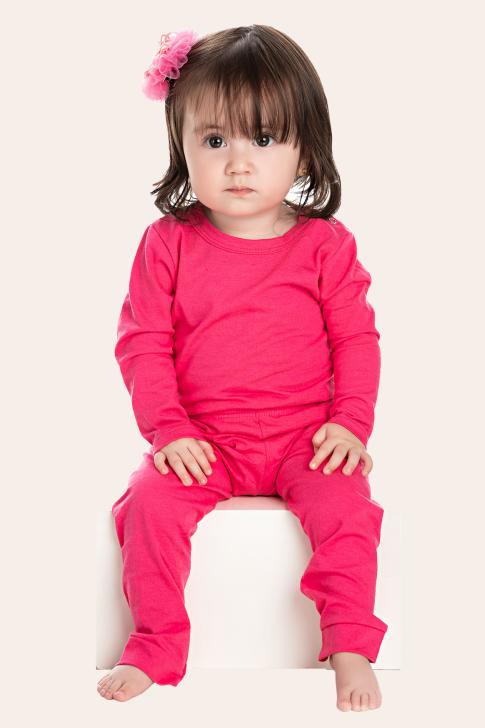 206/B - Conjunto Bebê Feminino Body E Calça