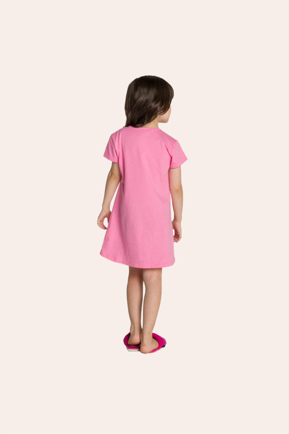 128/C - Camisola Infantil Sorvete com Granulado - Mãe e filha
