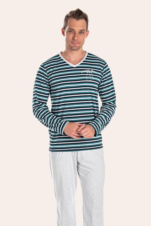 207/D - Pijama Adulto Masculino Daddy Bear