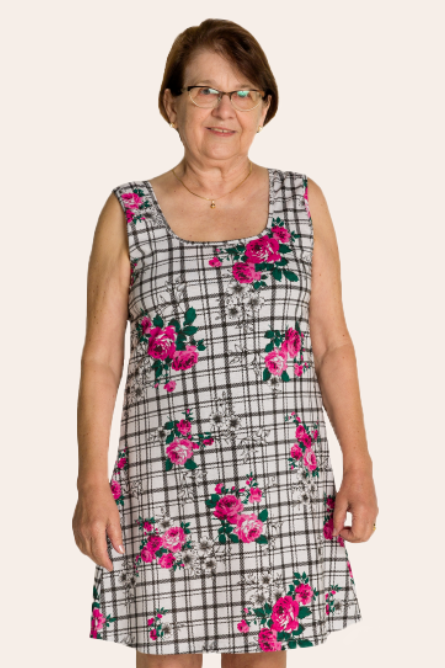 211/B - Camisola Adulto Floral