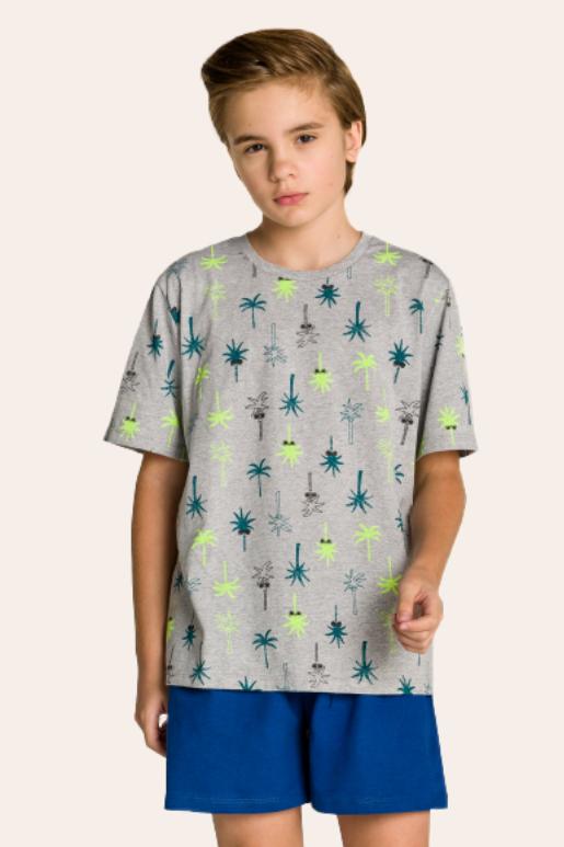 211/C - Pijama Juvenil Masculino Coqueiro