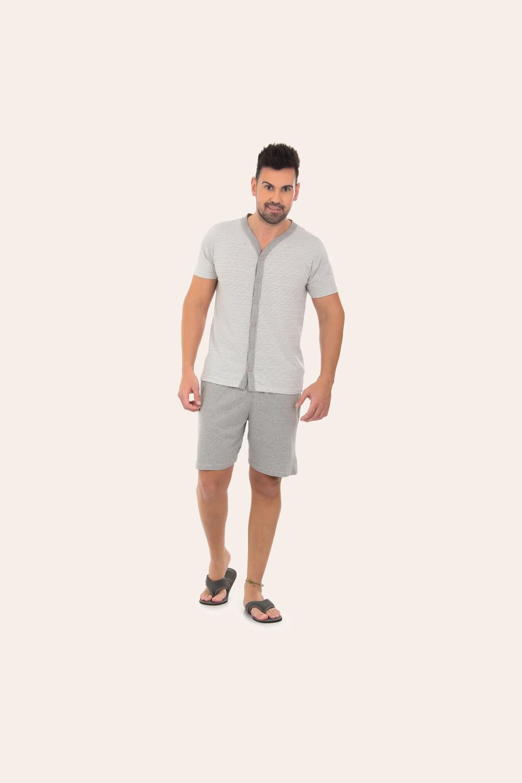 216/A - Pijama Adulto Masculino  Aberto