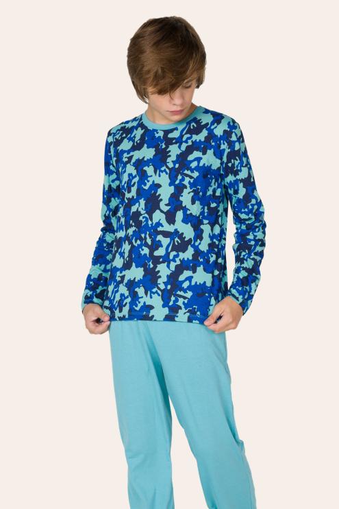 224/A - Pijama Juvenil Masculino