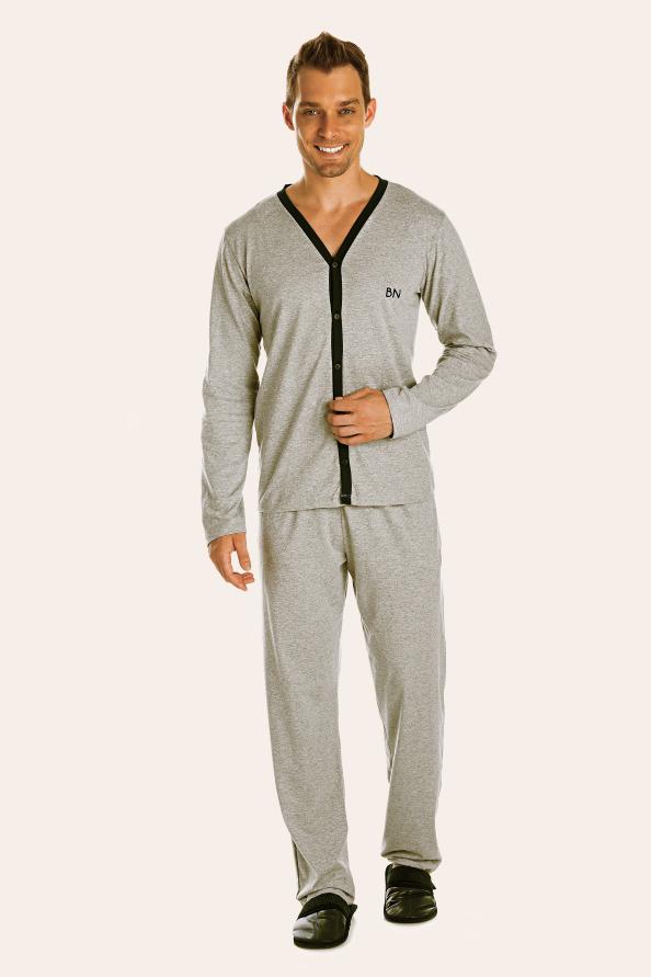 225/A - Pijama Adulto Masculino Aberto