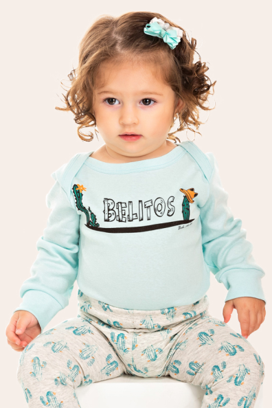 251/A - Pijama Bebê Feminino Belitos