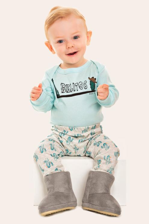 251/B - Pijama Bebê Masculino Belitos