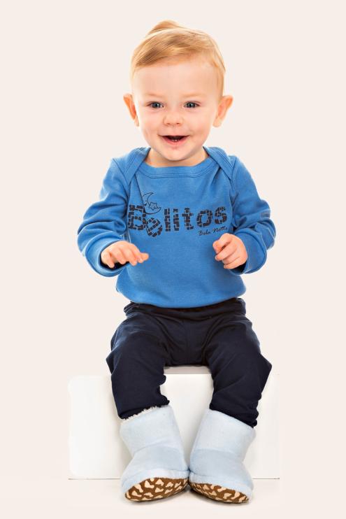 252/B - Pijama Bebê Masculino Belitos
