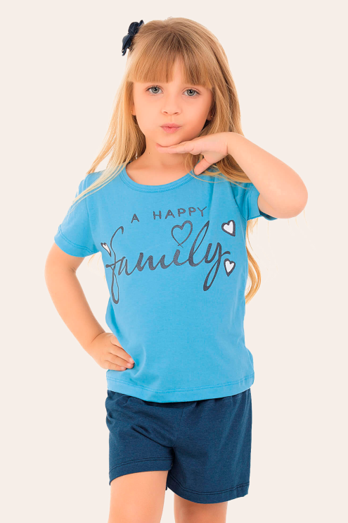 254/B - Short Doll Infantil Family
