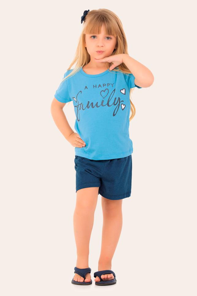 142/F - Short Doll Infantil Family