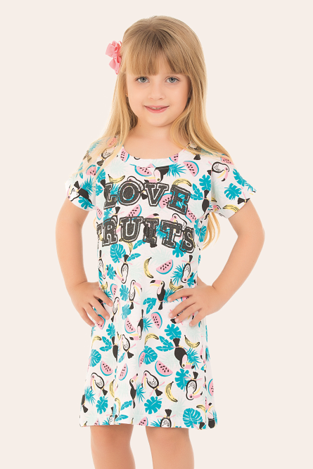 254/C - Camisola Infantil  Love Fruits