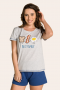 102/A - Pijama Adulto Feminino Best Family