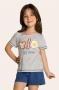 102/C - Pijama Infantil Feminino Best Family