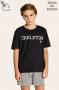 101/E - Pijama Juvenil Masculino Família Skeleton - Brilha no Escuro