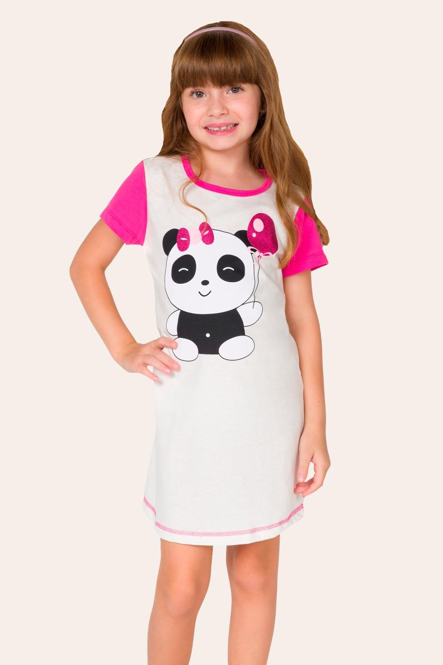 033/C - Camisola Infantil Panda
