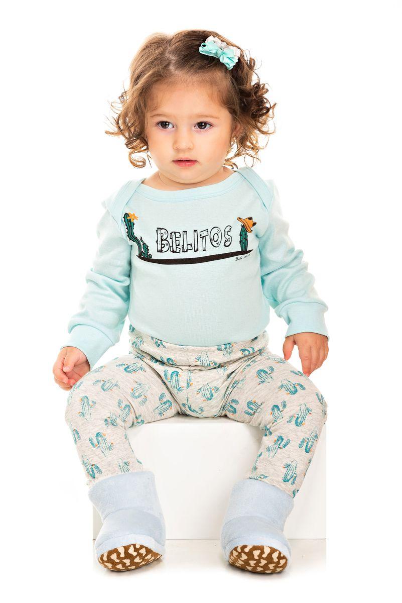 Pijama Bebê Feminino Belitos
