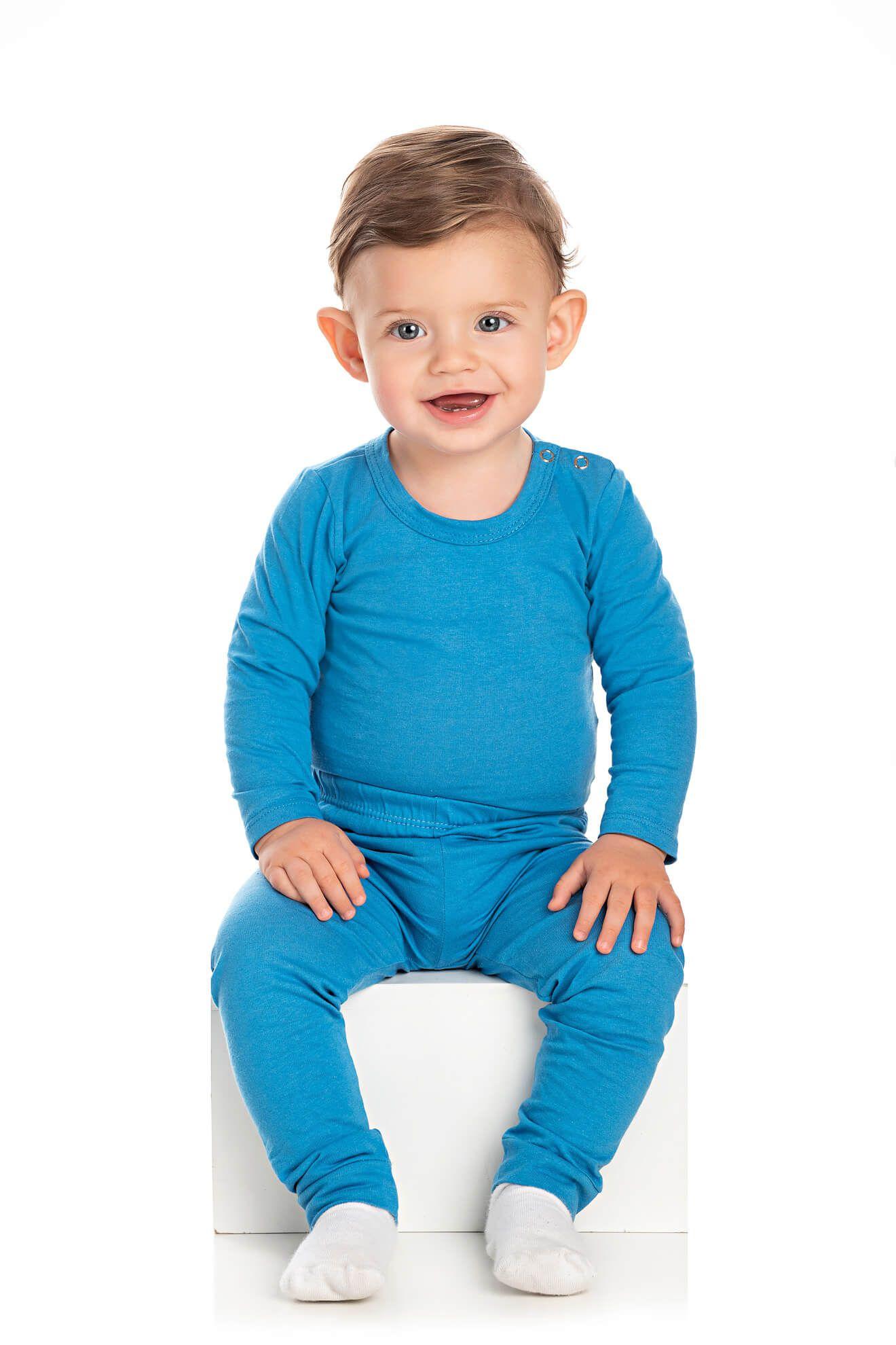 Conjunto Bebê Masculino Body e Calça