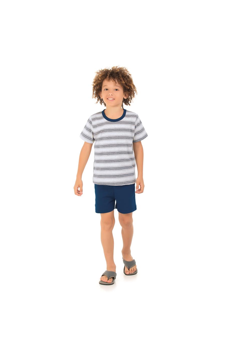 108/E - Conjunto Infantil Listrado