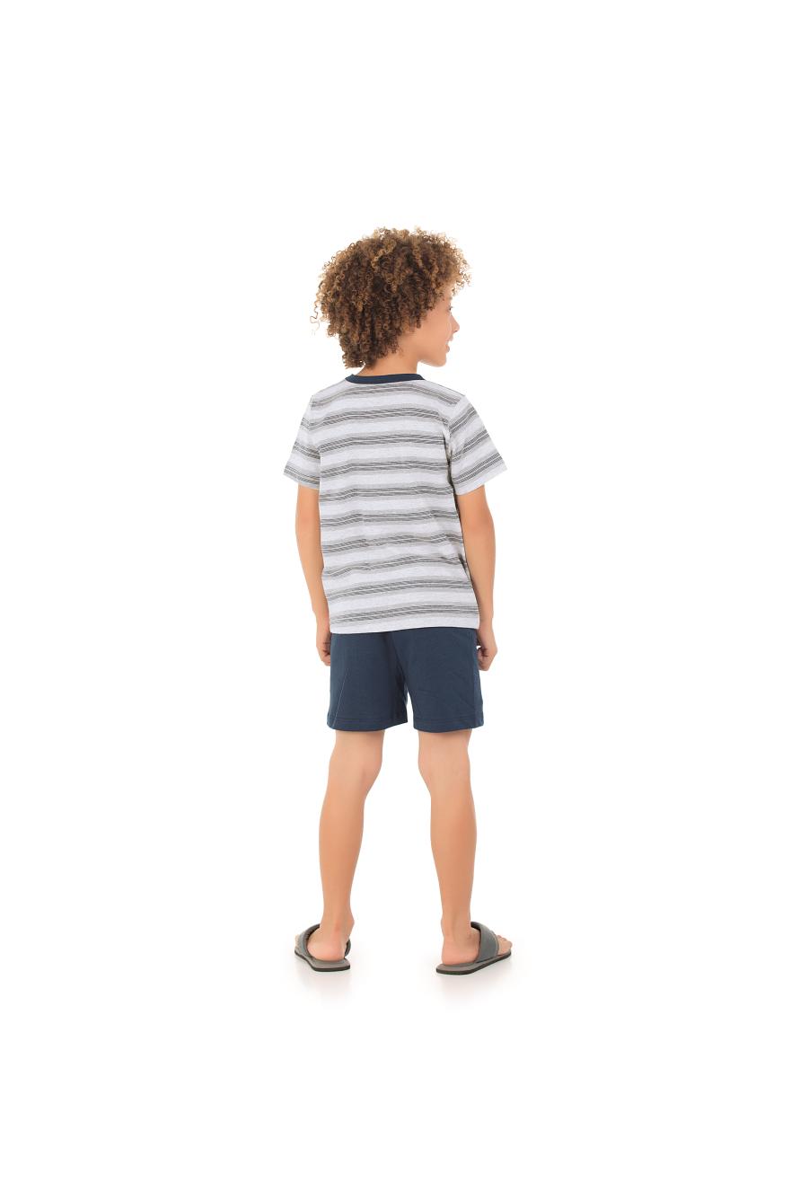 200/I - Conjunto Infantil Listrado
