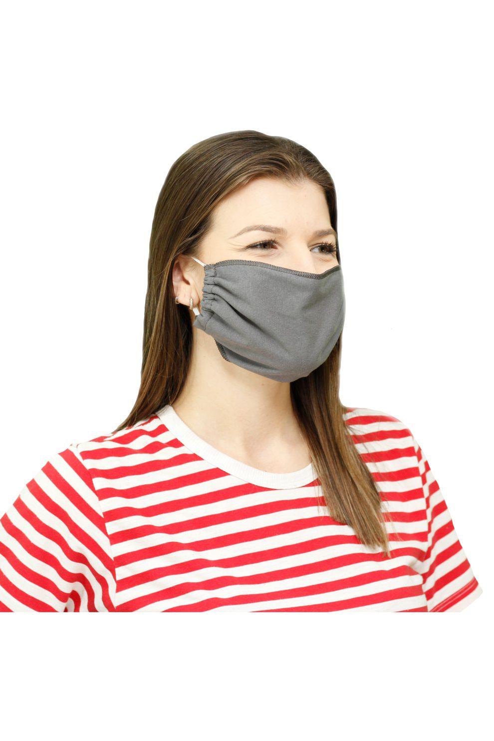 500/D - Máscara de Proteção Cinza
