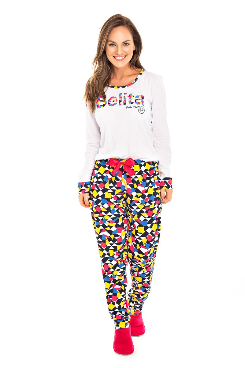 097/A - Pijama Adulto feminino Belita Colorido