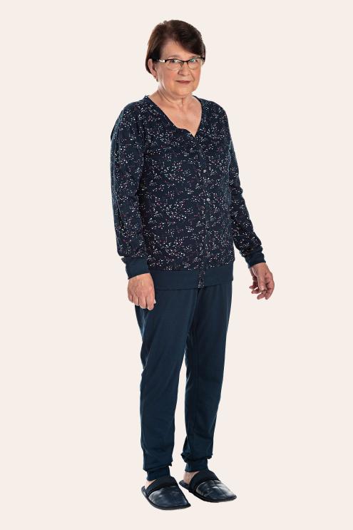 196/G  - Pijama Adulto Feminino Estampa Rotativa
