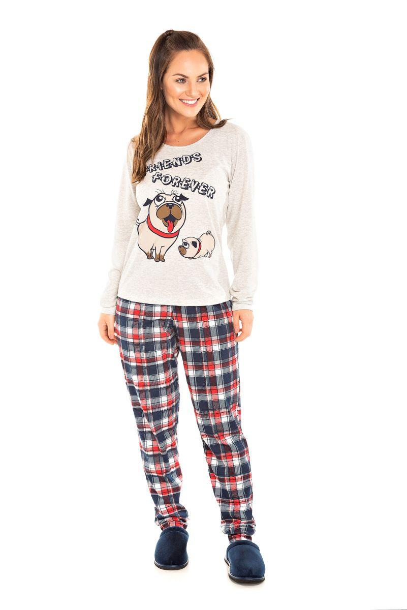 Pijama Adulto Feminino Friend's Forever