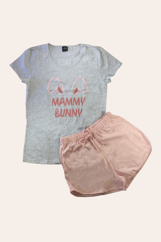 004/A - Pijama De Páscoa Para Família - Adulto Feminino